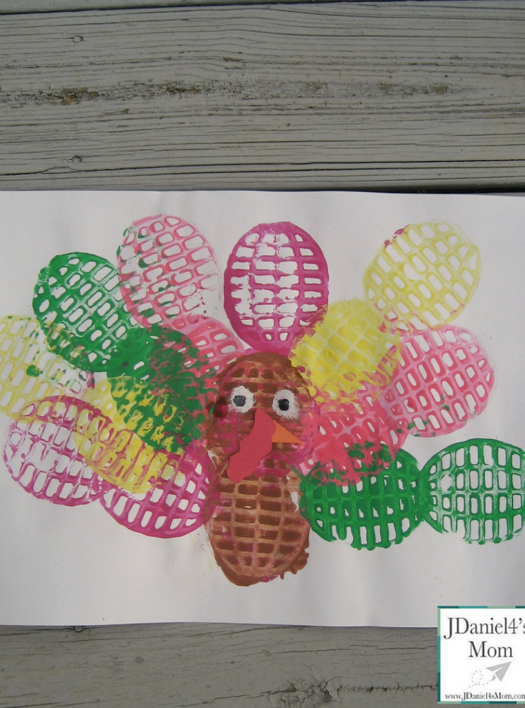 Best ideas about Preschool Arts And Craft . Save or Pin Arts and Crafts for Kids Potato Masher Painted Turkey Now.