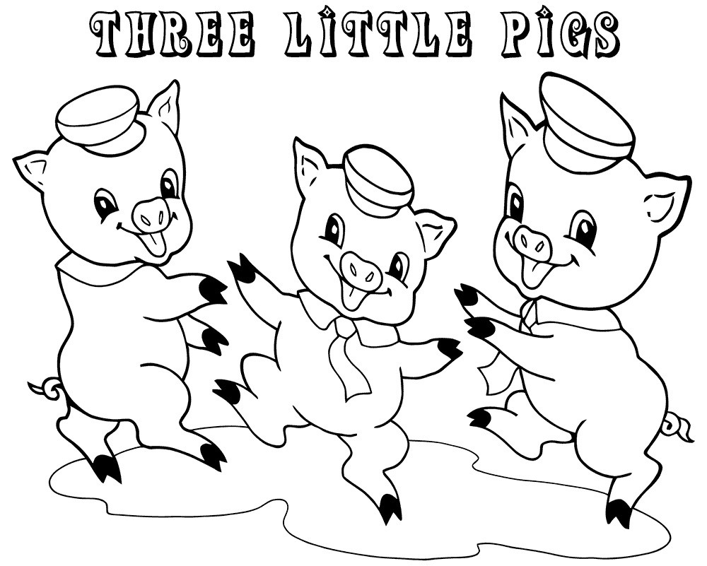 Best ideas about Preschool Coloring Sheets For The 3 Little Pigs . Save or Pin 3 Little Pigs Coloring Pages for Preschoolers Now.
