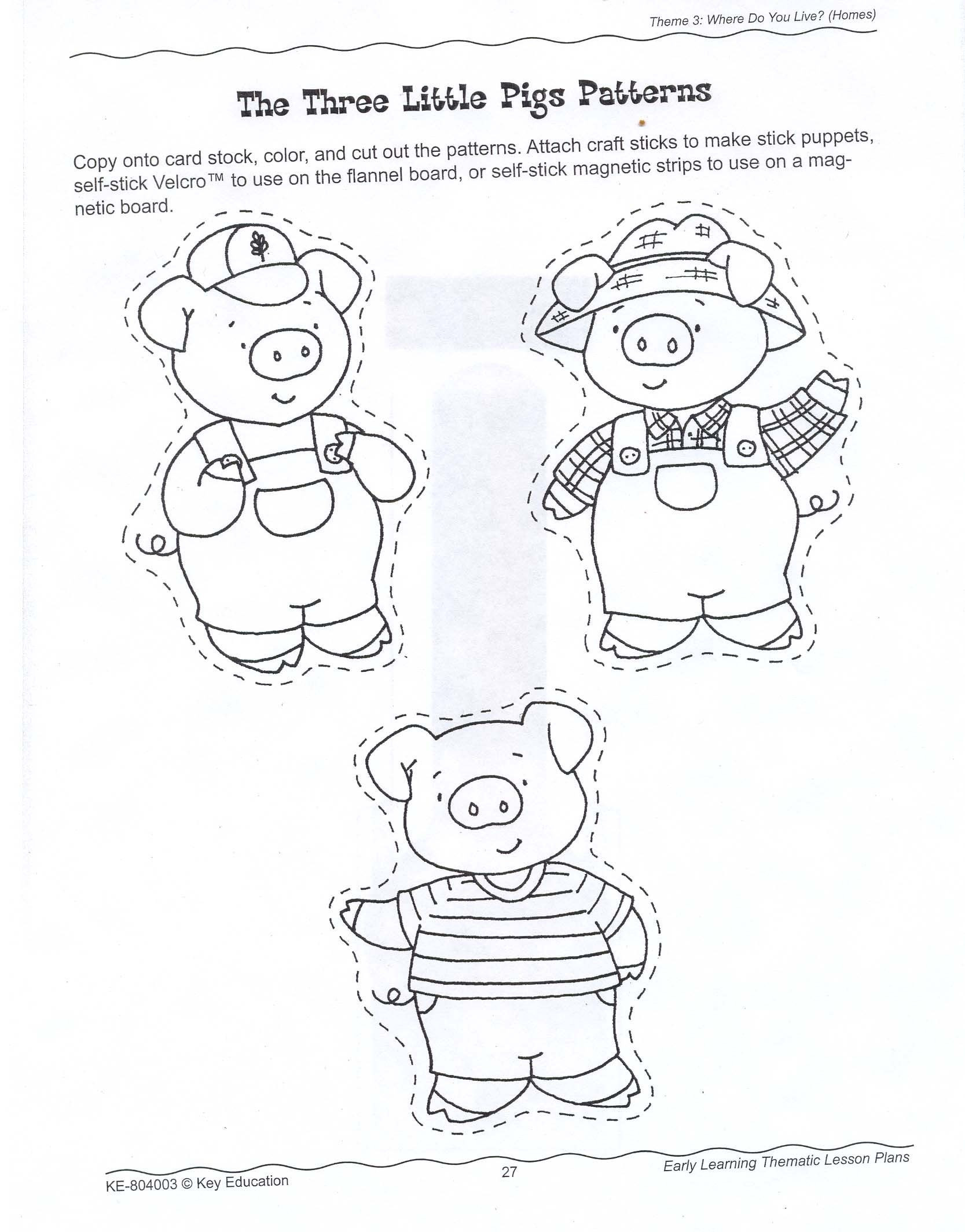 Best ideas about Preschool Coloring Sheets For The 3 Little Pigs . Save or Pin The Three Little Pigs Story Coloring Pages Coloring Home Now.