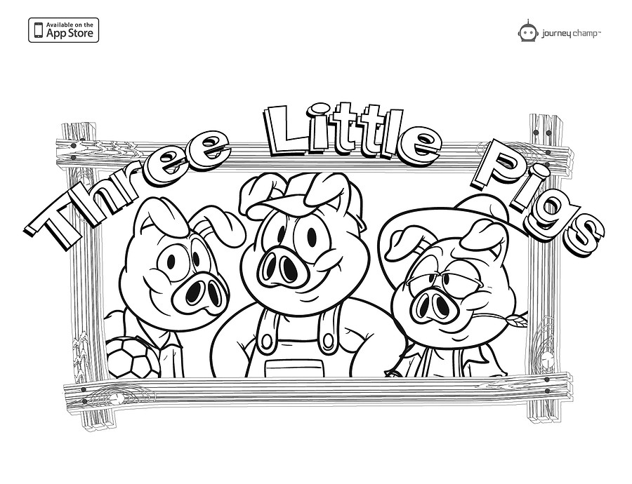 Best ideas about Preschool Coloring Sheets For The 3 Little Pigs . Save or Pin Three Little Pigs Coloring Page Coloring Home Now.