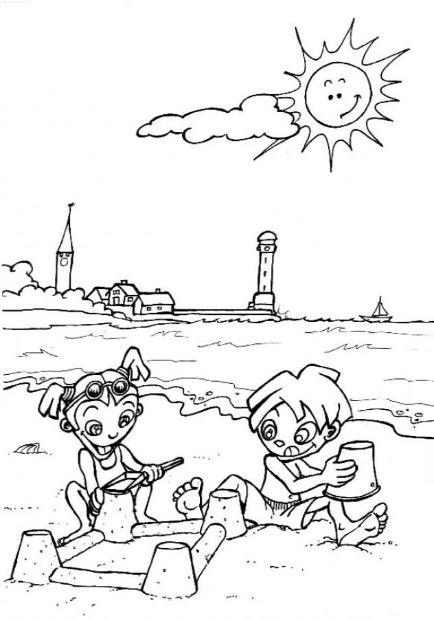 Best ideas about Preschool Coloring Sheets Summer . Save or Pin Preschool Summer Coloring Pages Coloring Home Now.