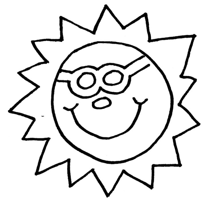 Best ideas about Preschool Coloring Sheets Summer . Save or Pin Preschool Summer Coloring Pages AZ Coloring Pages Now.