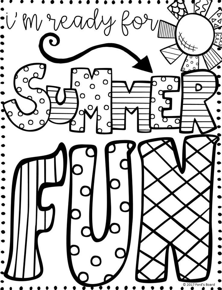 Best ideas about Preschool Coloring Sheets Summer . Save or Pin Best 25 Summer coloring pages ideas on Pinterest Now.