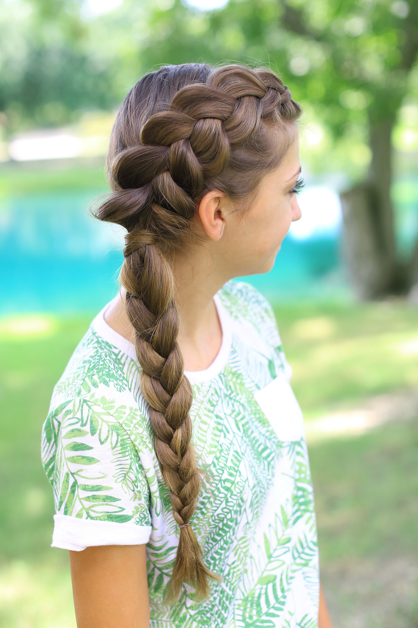 Best ideas about Pretty Girls Hairstyles . Save or Pin Side Dutch Braid bo Now.