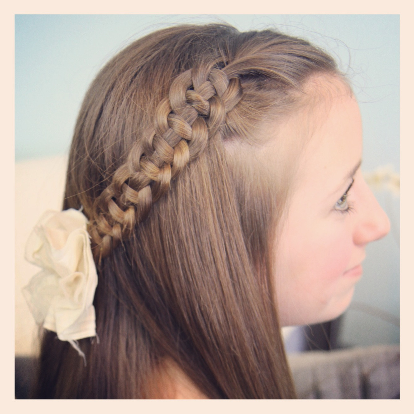 Best ideas about Pretty Girls Hairstyles . Save or Pin 4 Strand Slide Up Braid Pullback Hairstyles Now.