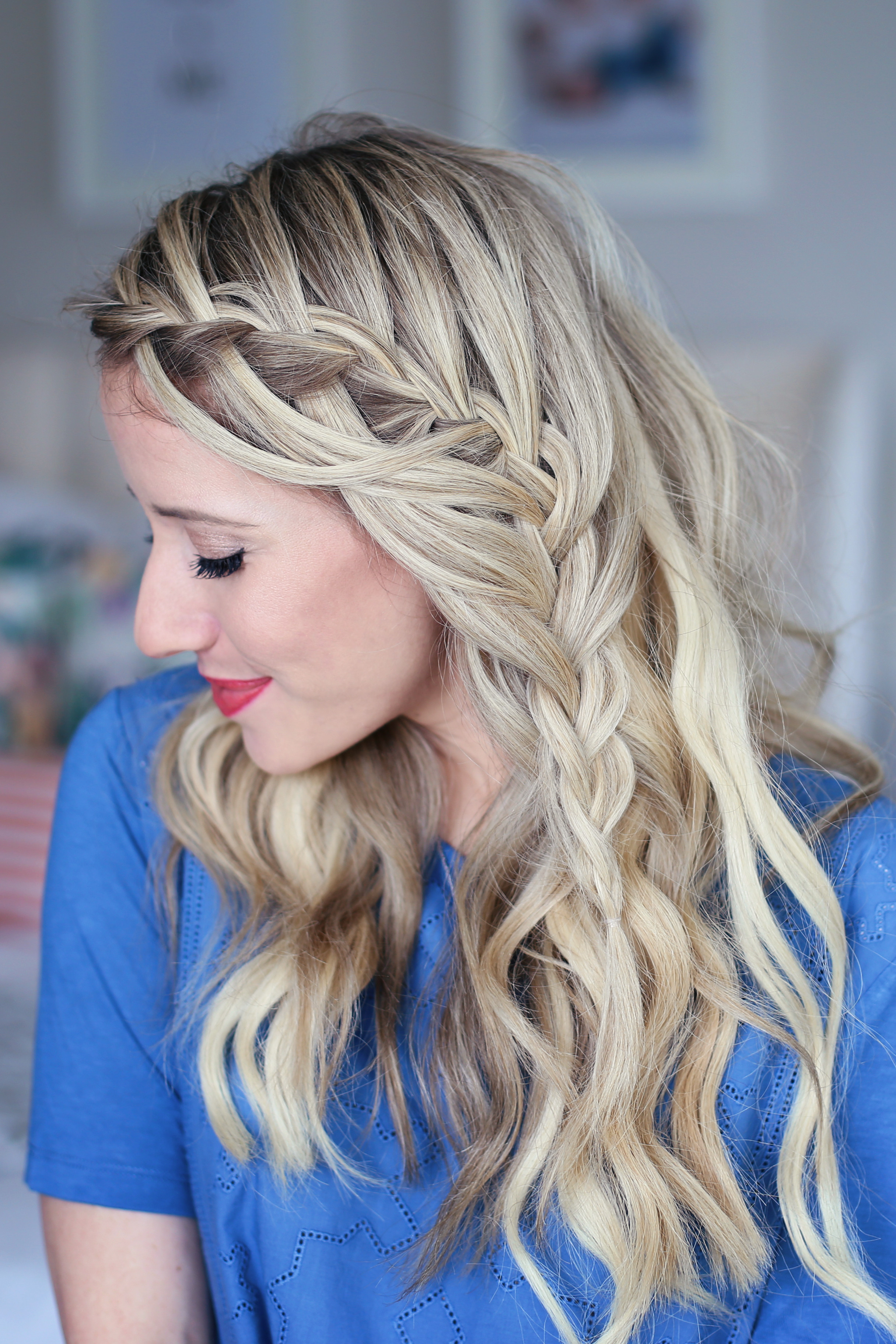 Best ideas about Pretty Girls Hairstyles . Save or Pin 3 in 1 Cascading Waterfall Build able Hairstyle Now.