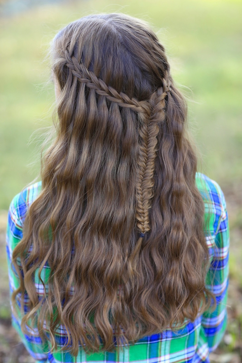 Best ideas about Pretty Girls Hairstyles . Save or Pin 5 Pretty Hairstyles for Easter Now.