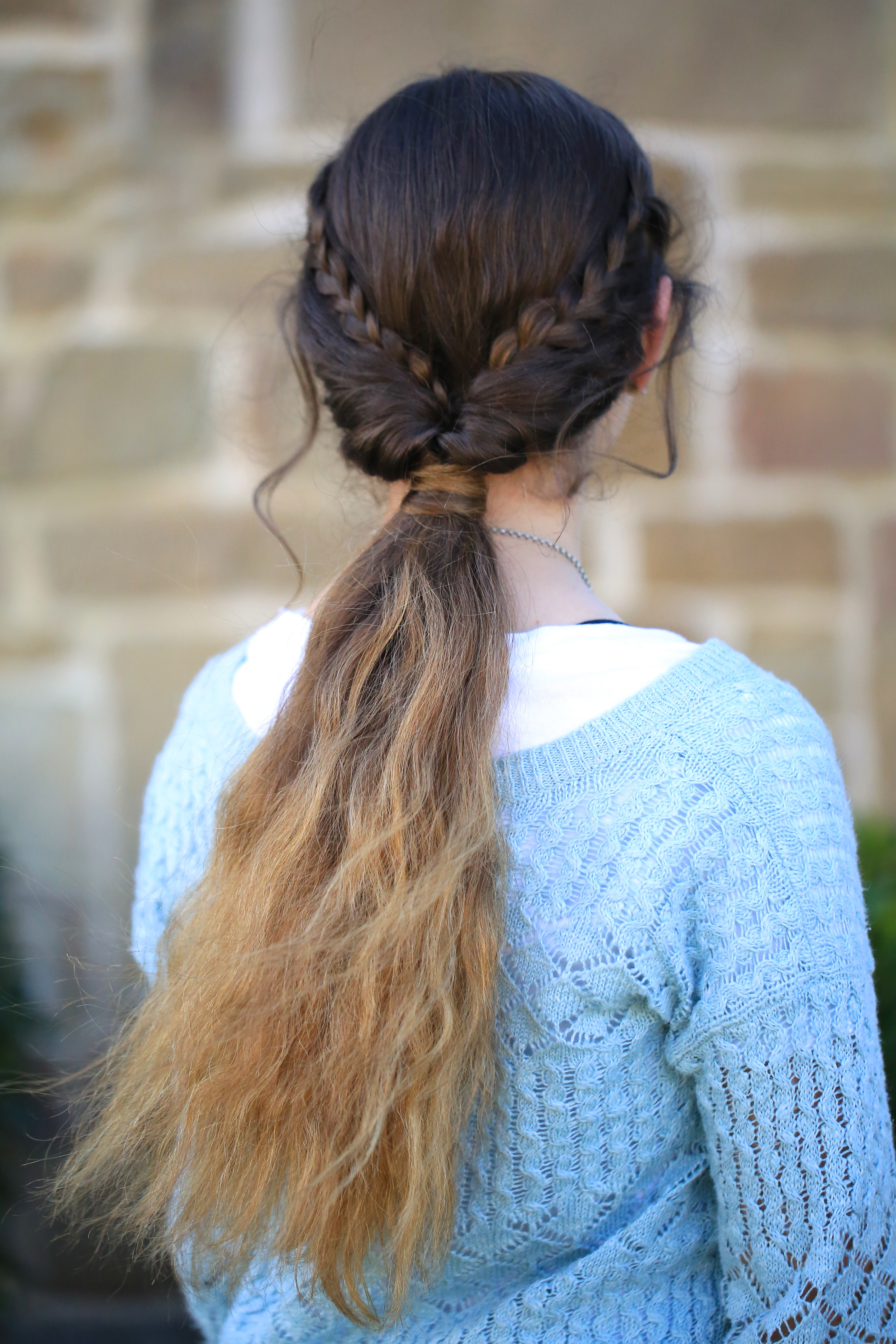 Best ideas about Pretty Girls Hairstyles . Save or Pin Braid Flip bo Hairstyle Now.