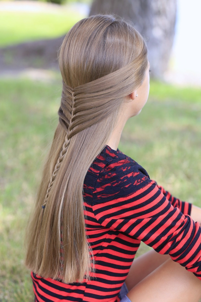 Best ideas about Pretty Girls Hairstyles . Save or Pin Mermaid Half Braid Hairstyles for Long Hair Now.