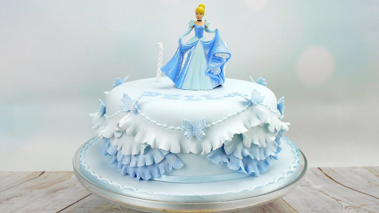 Best ideas about Princes Birthday Cake . Save or Pin Cinderella Princess Birthday Cake Now.