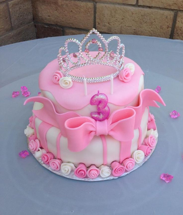 Best ideas about Princes Birthday Cake . Save or Pin Pink princess birthday cake My Cakes Now.