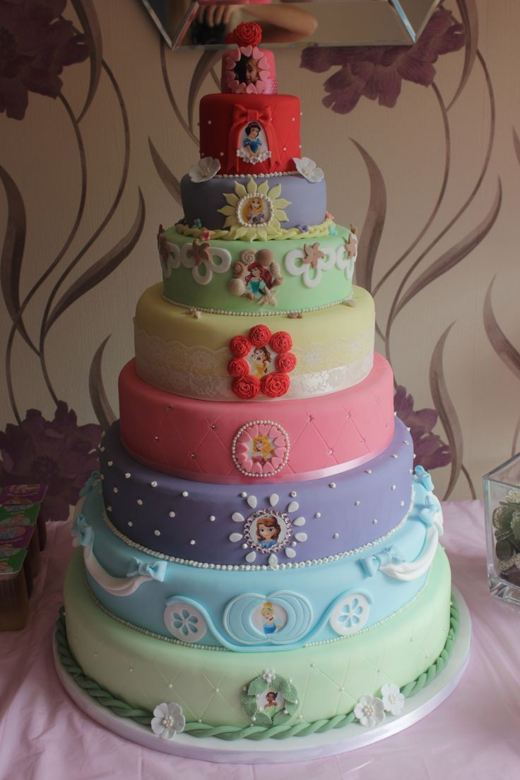 Best ideas about Princess Birthday Cake . Save or Pin AppleMark Disney Princess Cakes Now.