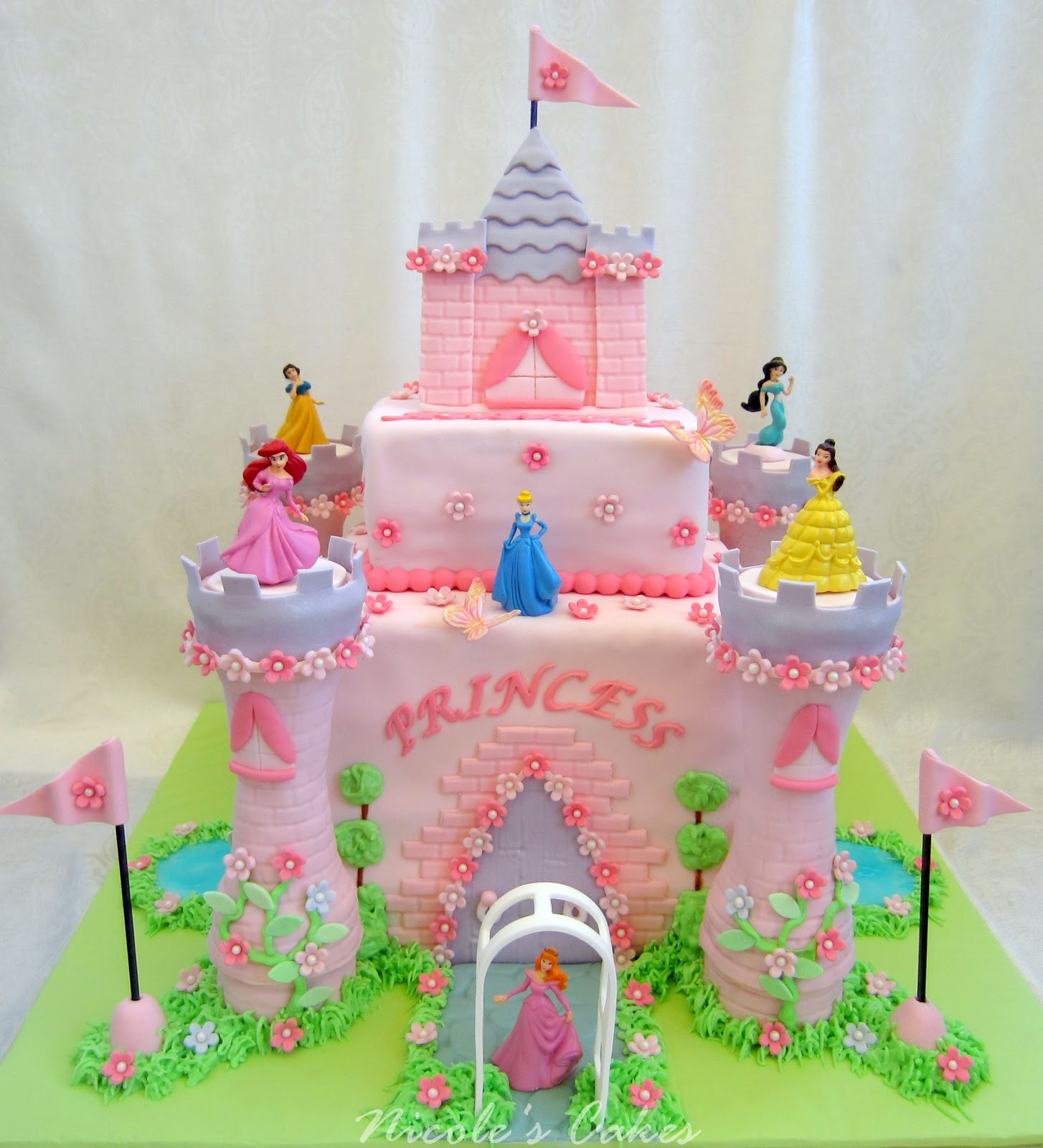 Best ideas about Princess Birthday Cake . Save or Pin Birthday Cakes Princess Castle Cake Now.