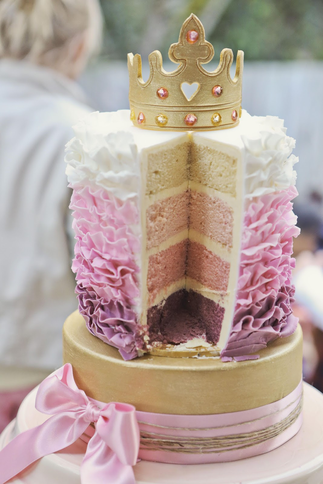 Best ideas about Princess Birthday Cake . Save or Pin Bubble and Sweet How to eat a Tiara Pink Ruffle Now.