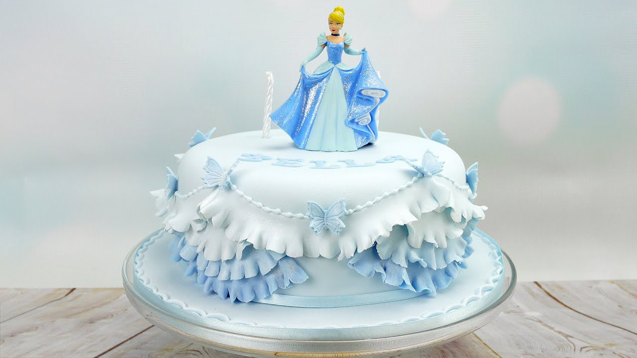 Best ideas about Princess Birthday Cake . Save or Pin Cinderella Princess Birthday Cake Now.
