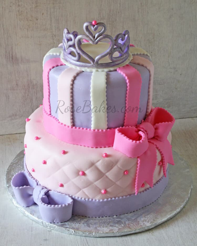 Best ideas about Princess Birthday Cake . Save or Pin 10 Pretty Princess Cakes Rose Bakes Now.