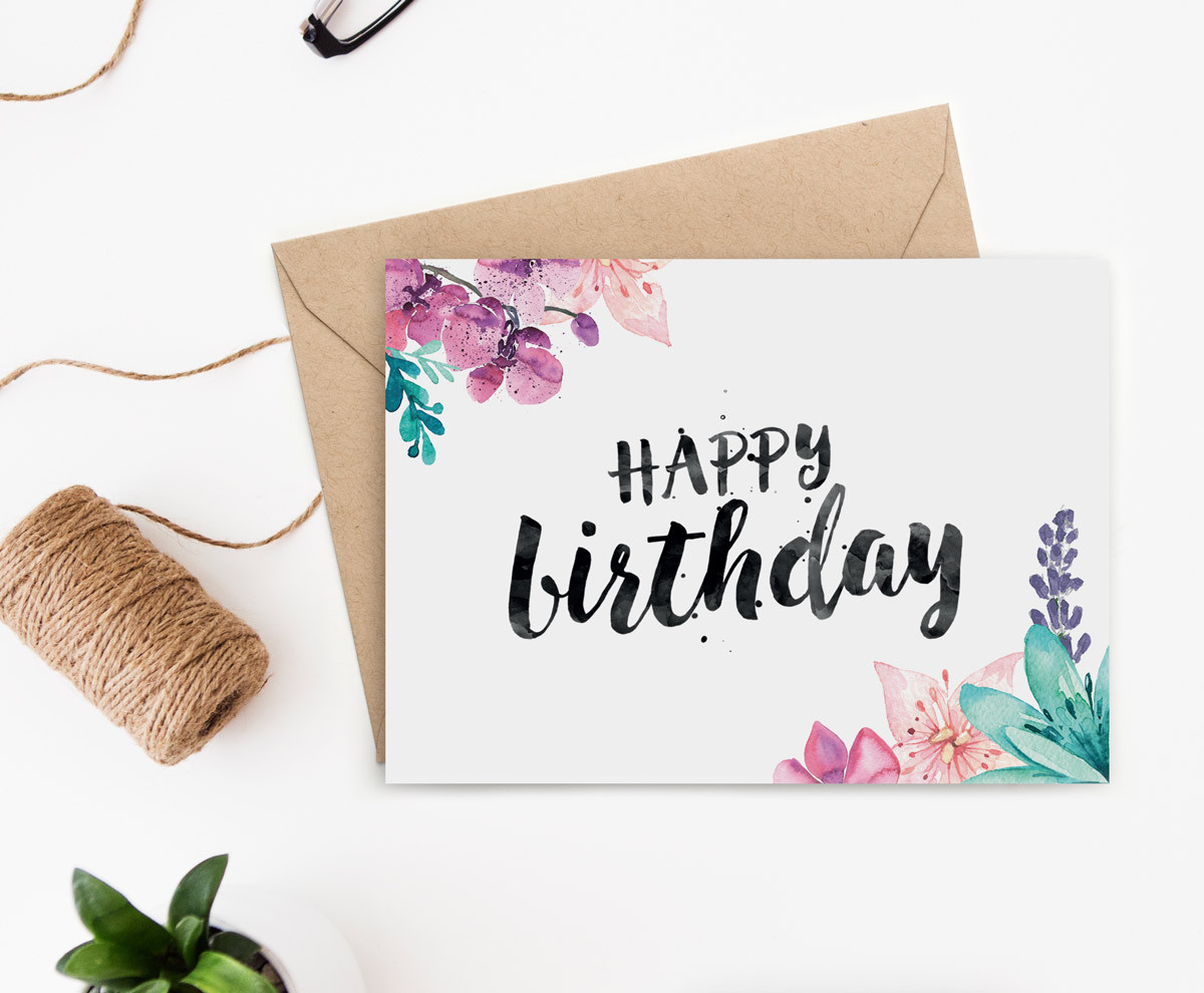 Best ideas about Print Birthday Card . Save or Pin Printable Birthday Card for Her Now.