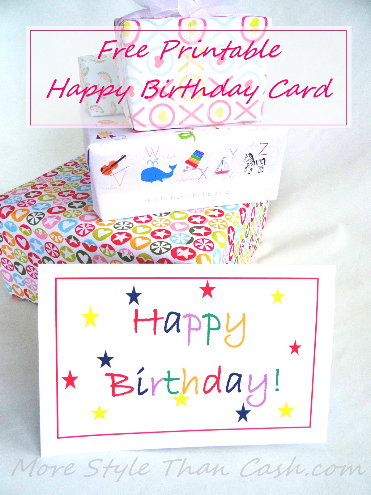 Best ideas about Print Birthday Card . Save or Pin Free Printable Birthday Card Now.