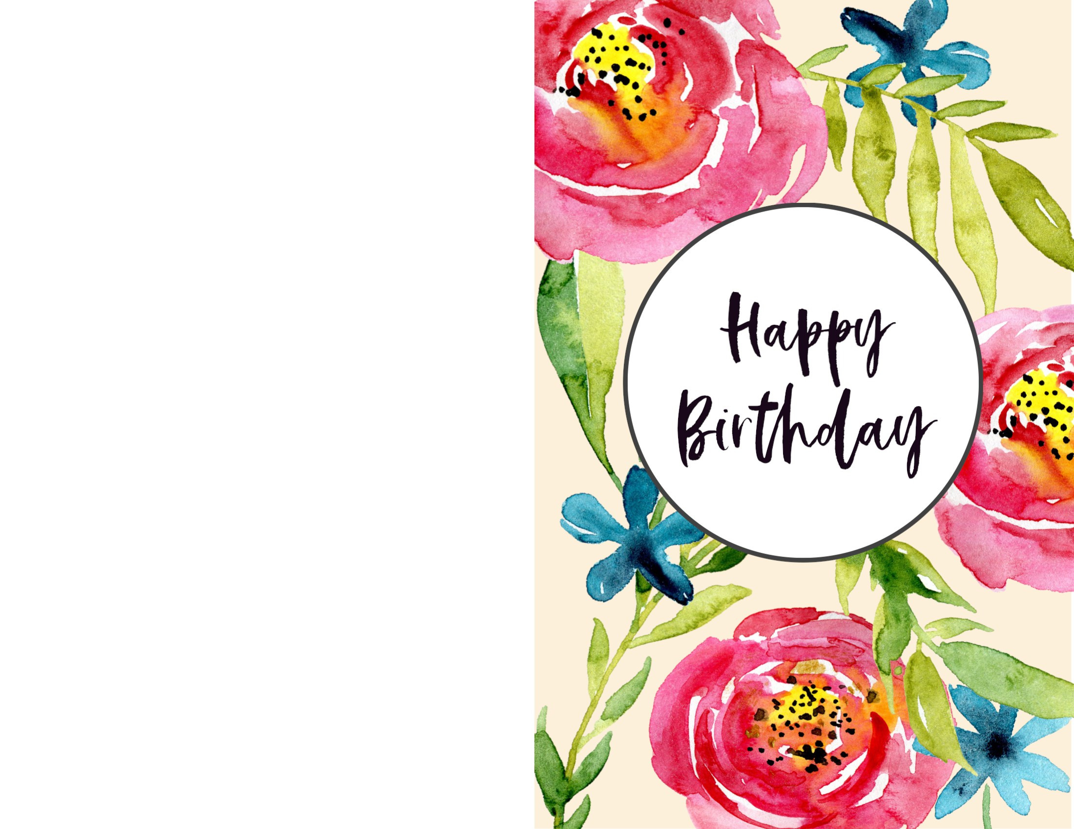 Best ideas about Print Birthday Card . Save or Pin Free Printable Birthday Cards Paper Trail Design Now.