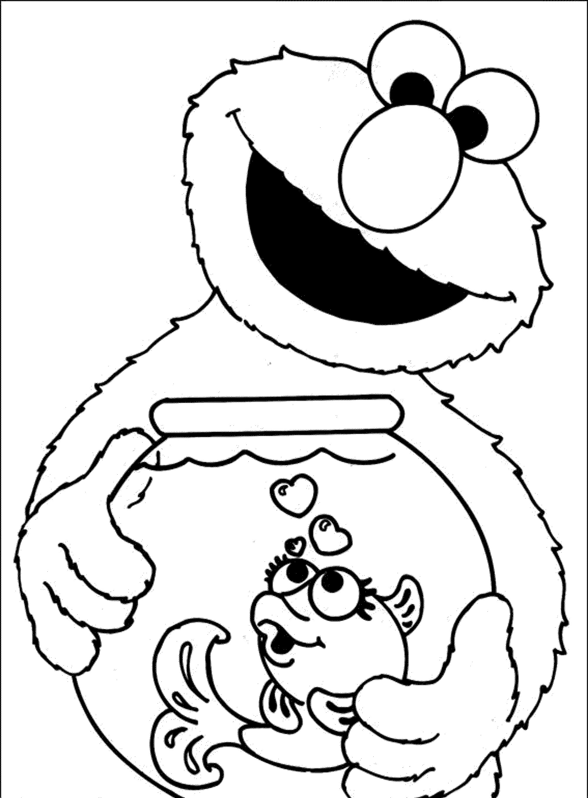 Best ideas about Print Free Coloring Pages . Save or Pin Elmo Coloring Pages Printable Free Coloring Home Now.