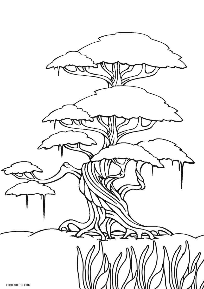Best ideas about Print Free Coloring Pages . Save or Pin Free Printable Tree Coloring Pages For Kids Now.