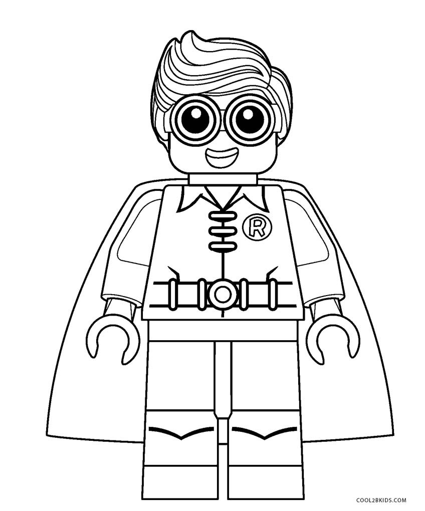 Best ideas about Print Free Coloring Pages . Save or Pin Free Printable Lego Coloring Pages For Kids Now.