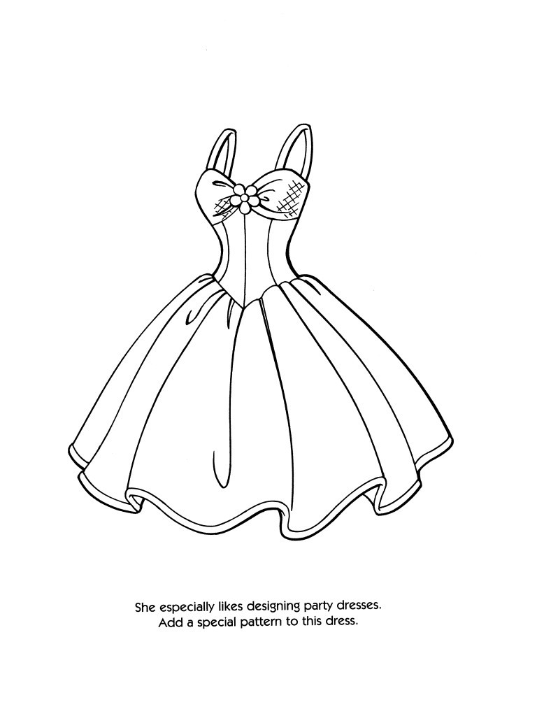 Best ideas about Print Out Coloring Sheets For Girls Dresses . Save or Pin Fashion Designer Coloring Pages Bestofcoloring Now.