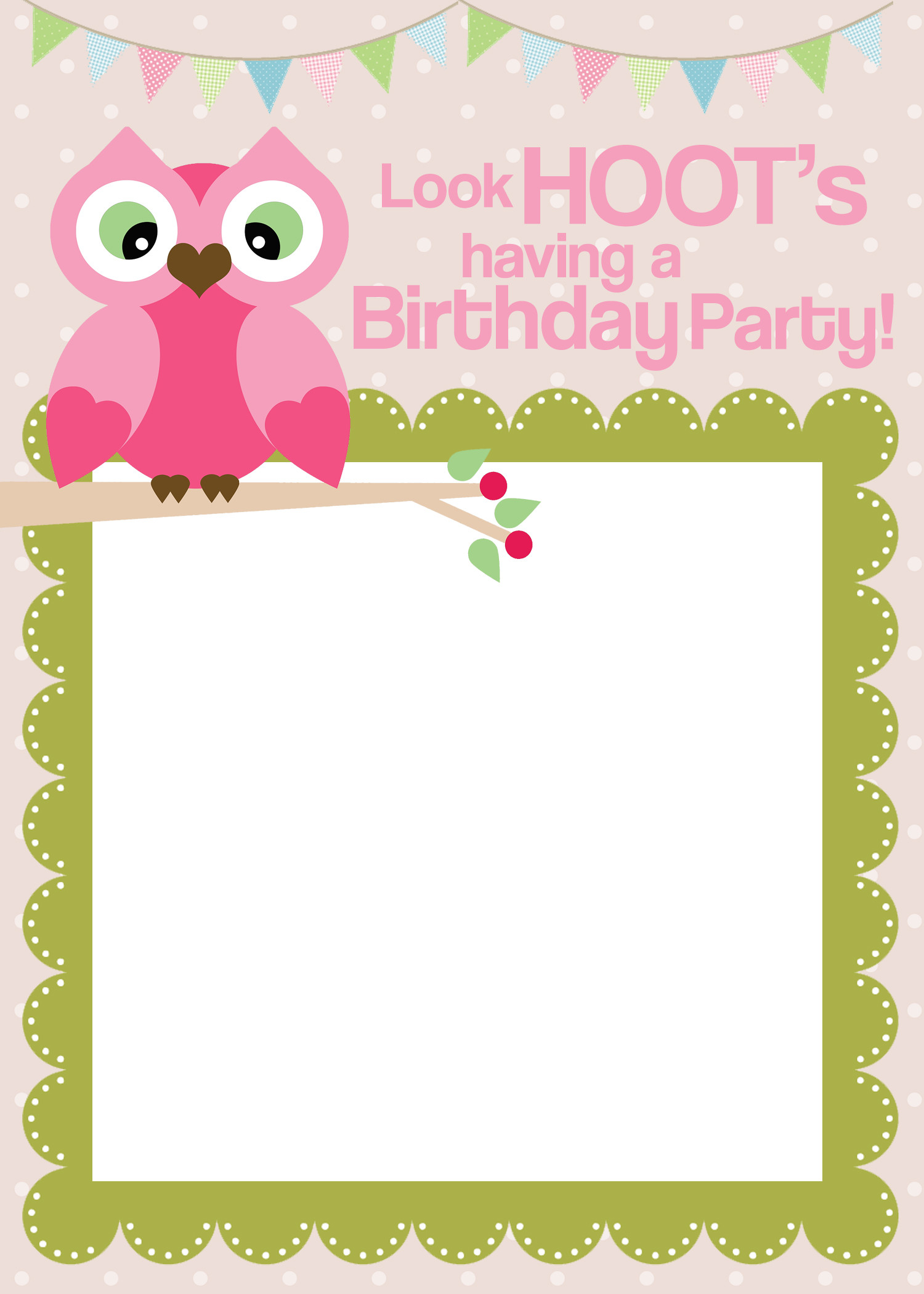 Best ideas about Printable Birthday Invitations . Save or Pin Owl Birthday Party with FREE Printables How to Nest for Now.