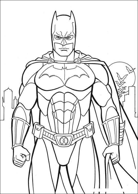 Best ideas about Printable Coloring Pages Batman . Save or Pin Batman coloring page Ideas for the House Now.