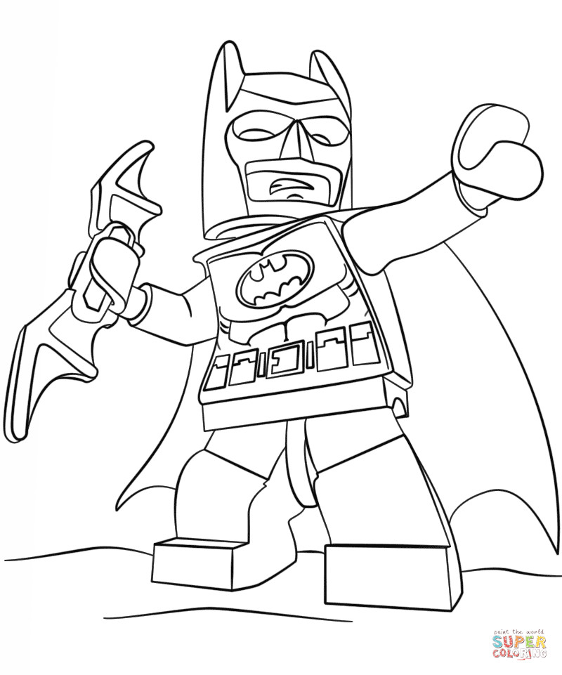 Best ideas about Printable Coloring Pages Batman . Save or Pin Lego Batman coloring page Now.