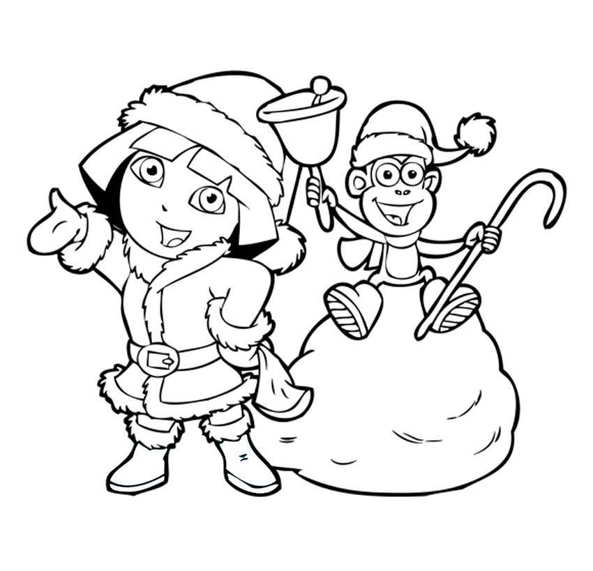 Best ideas about Printable Coloring Pages Dora . Save or Pin Free Printable Dora The Explorer Coloring Pages For Kids Now.