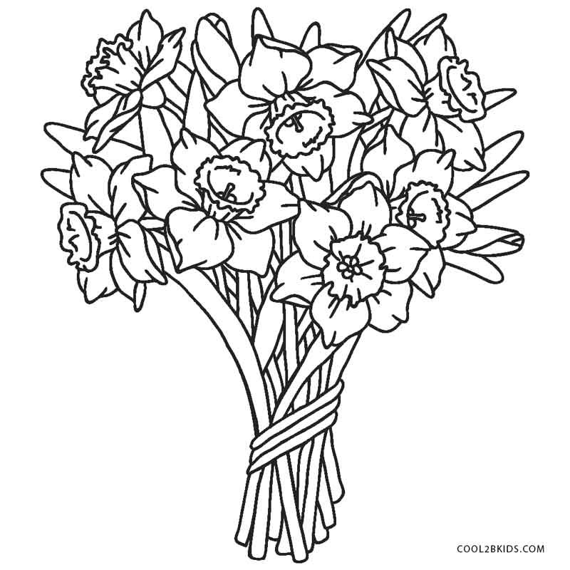 Best ideas about Printable Coloring Pages Flowers . Save or Pin Free Printable Flower Coloring Pages For Kids Now.