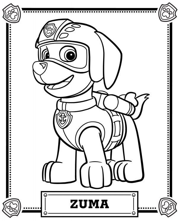 Best ideas about Printable Coloring Pages For Boys Paw Patrol . Save or Pin Best 25 Paw patrol coloring ideas on Pinterest Now.