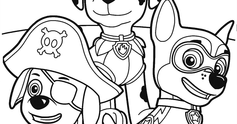 Best ideas about Printable Coloring Pages For Boys Paw Patrol . Save or Pin Free Nick Jr Paw Patrol Coloring Pages Now.