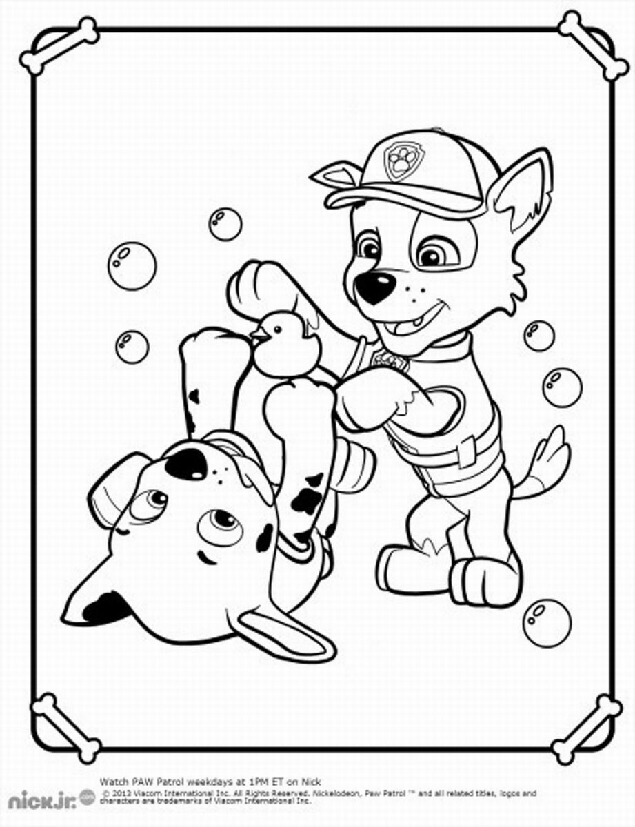 Best ideas about Printable Coloring Pages For Boys Paw Patrol . Save or Pin Paw Patrol Coloring Pages Kids and parenting Now.