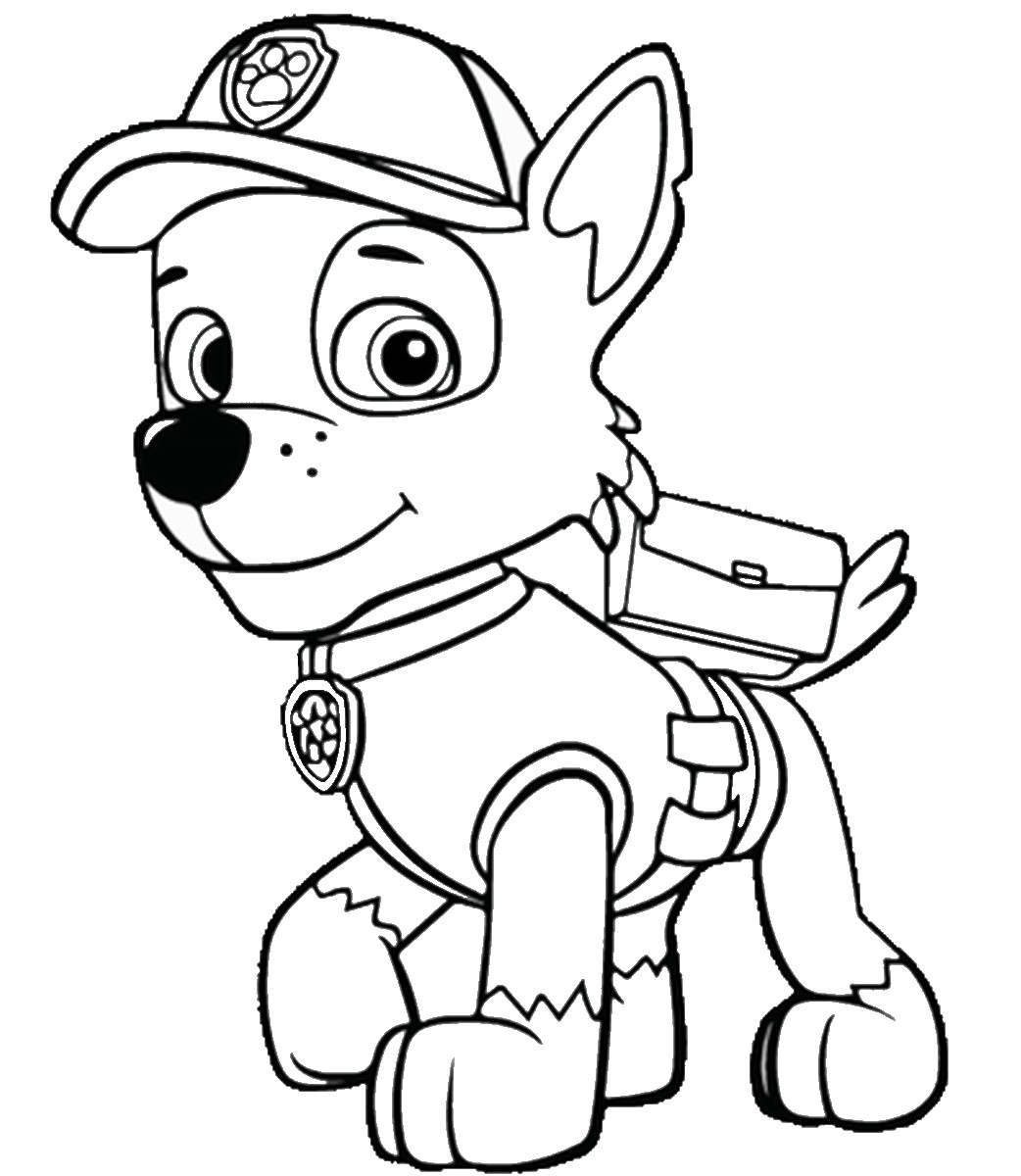Best ideas about Printable Coloring Pages For Boys Paw Patrol . Save or Pin PAW Patrol Coloring Pages Printable Now.
