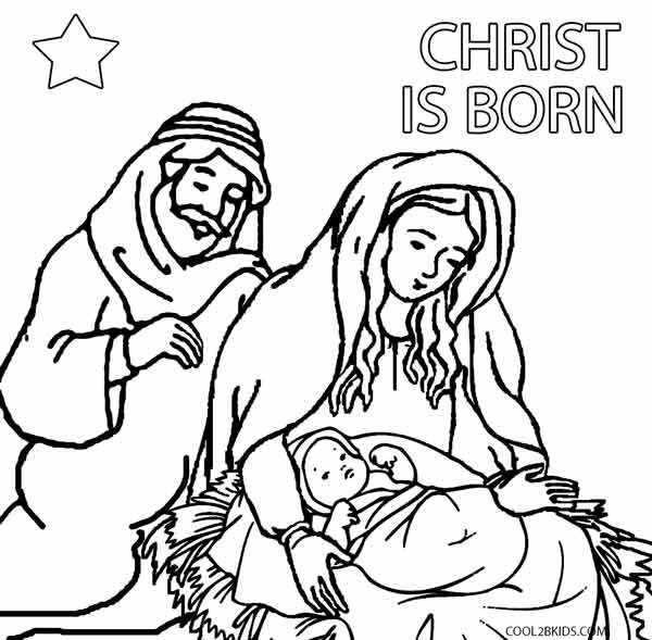 Best ideas about Printable Coloring Pages Nativity . Save or Pin Printable Nativity Scene Coloring Pages for Kids Now.