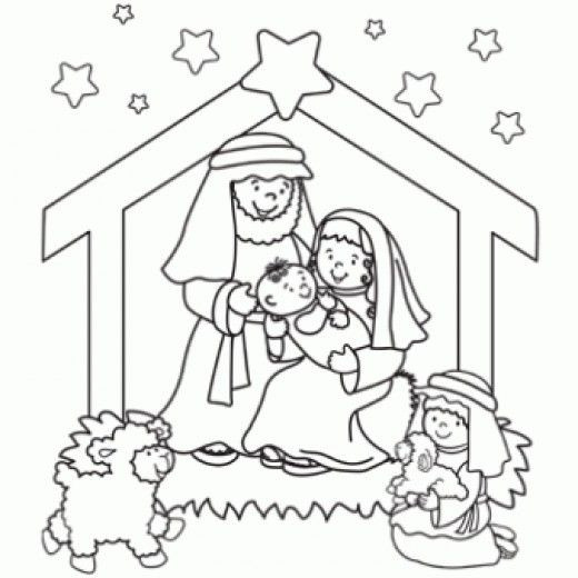 Best ideas about Printable Coloring Pages Nativity . Save or Pin 1734 best Coloring Pages images on Pinterest Now.