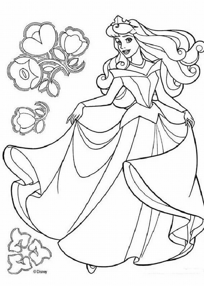 Best ideas about Printable Coloring Pages Princess . Save or Pin Free Printable Disney Princess Coloring Pages For Kids Now.
