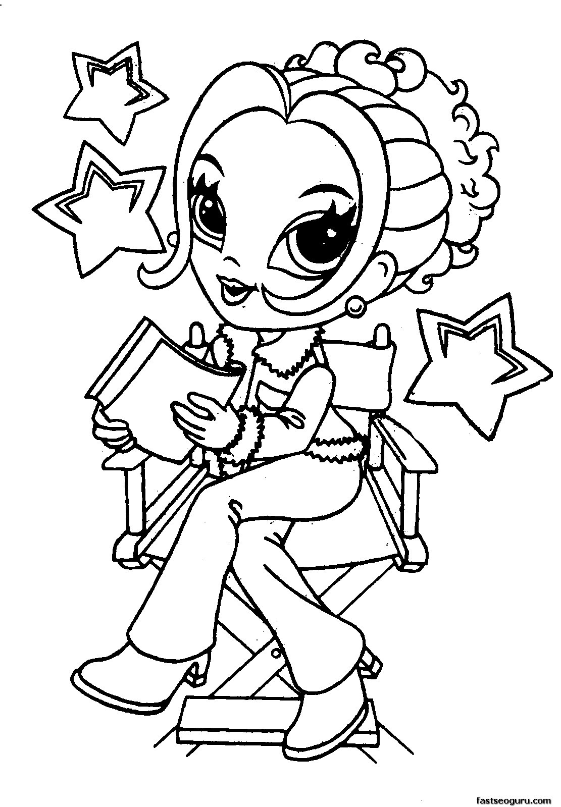 Best ideas about Printable Coloring Sheets For Girls . Save or Pin coloring pages for girls 10 and up Now.