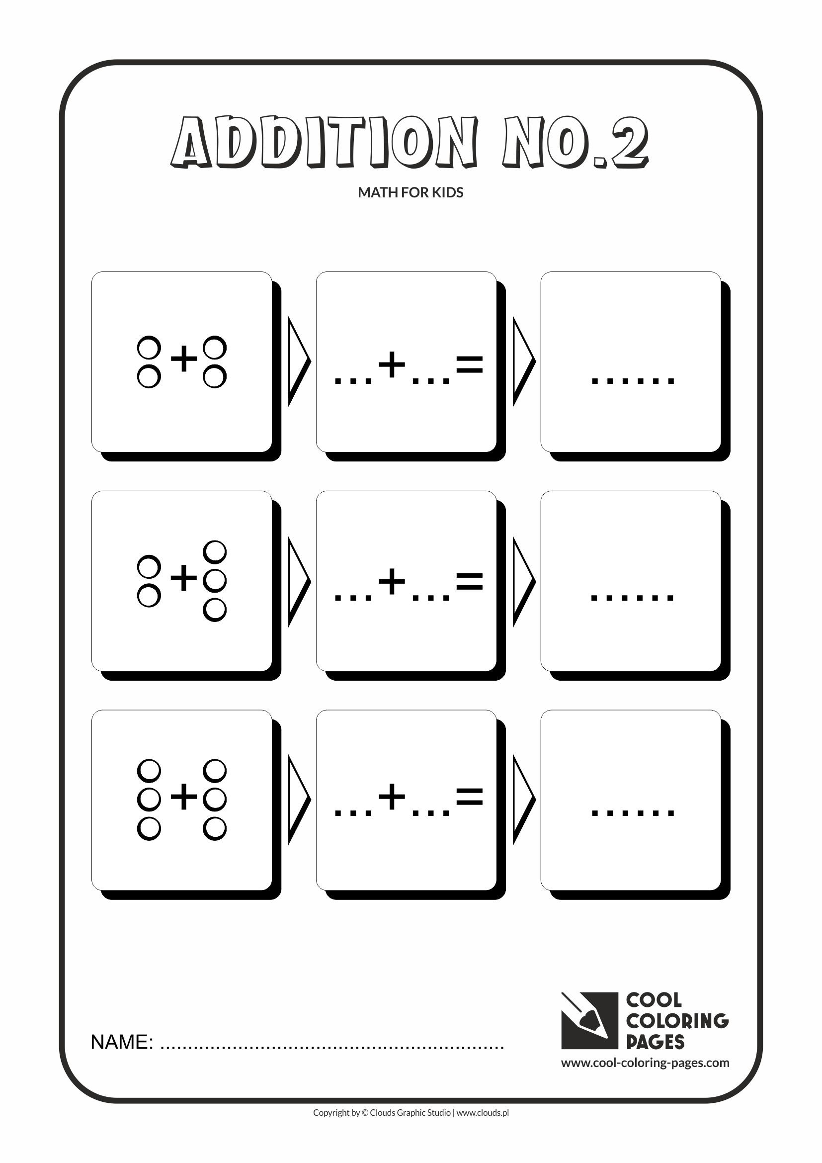 Best ideas about Printable Coloring Sheets For Kids With Math . Save or Pin Cool Coloring Pages Math for kids Cool Coloring Pages Now.