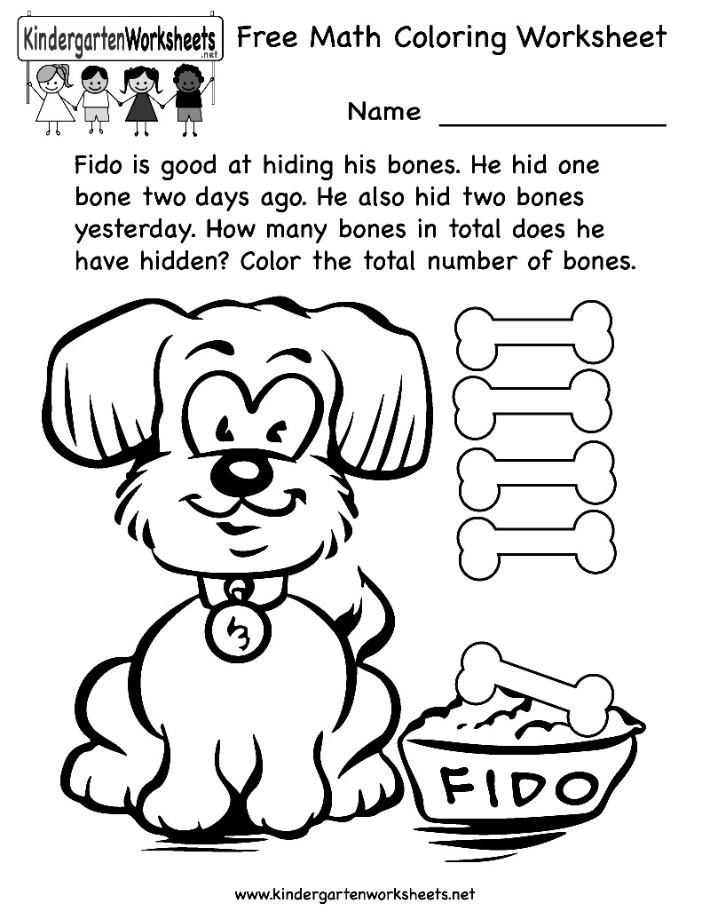 Best ideas about Printable Coloring Sheets For Kids With Math . Save or Pin Kindergarten Math Coloring Pages Coloring Home Now.