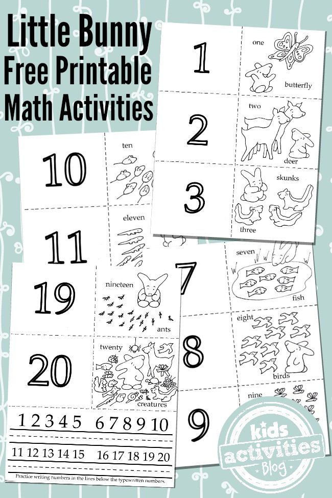 Best ideas about Printable Coloring Sheets For Kids With Math . Save or Pin 3 Adorable Math Activities From 1 Free Kids Printable Now.