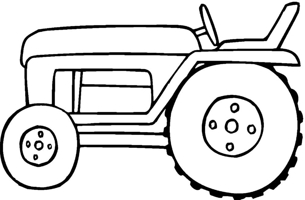 Best ideas about Printable Tractor Coloring Pages For Boys . Save or Pin 25 Best Tractor Coloring Pages To Print Now.