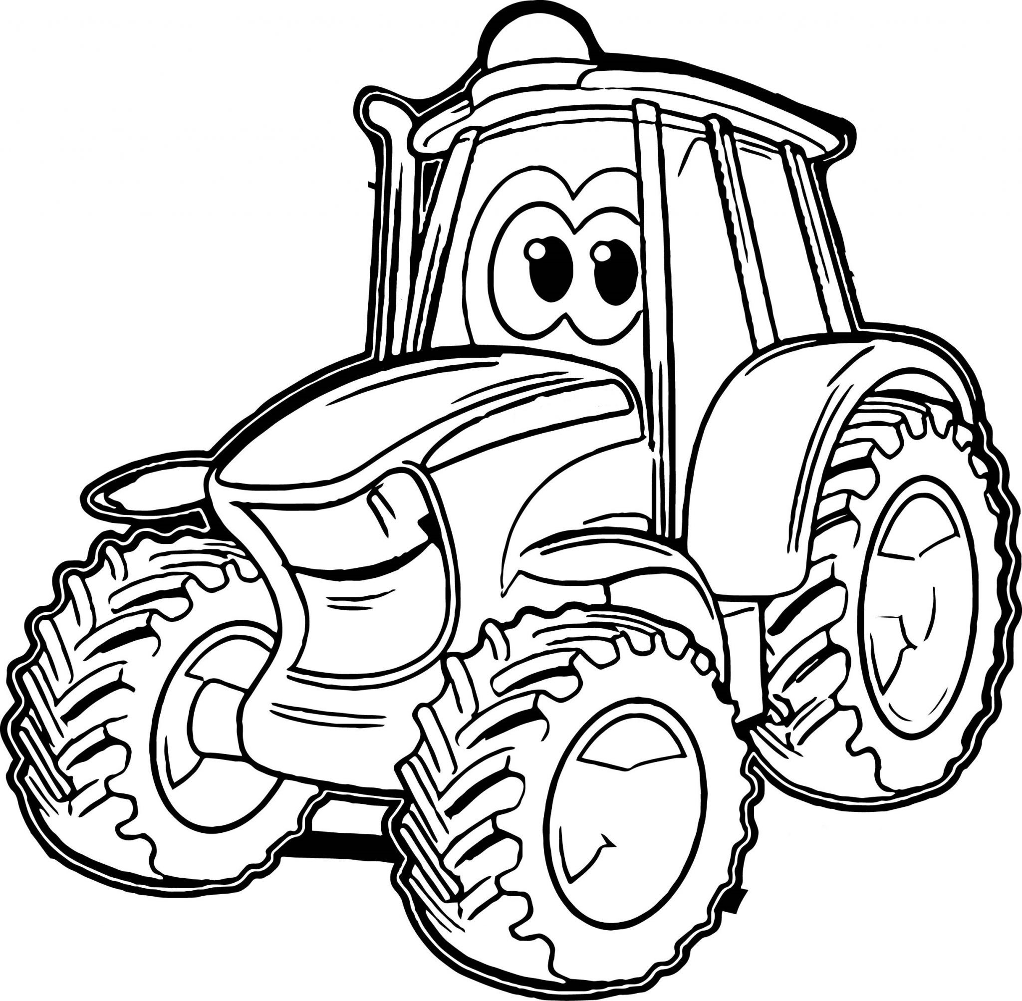 Best ideas about Printable Tractor Coloring Pages For Boys . Save or Pin 32 Kolorowanki Pojazdów Pokoloruj Świat Now.