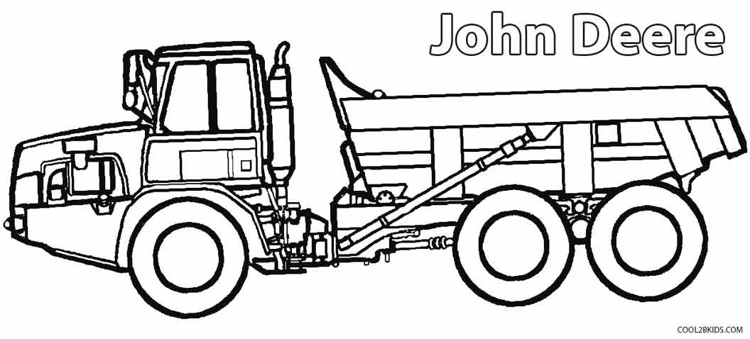 Best ideas about Printable Tractor Coloring Pages For Boys . Save or Pin Printable John Deere Coloring Pages For Kids Now.