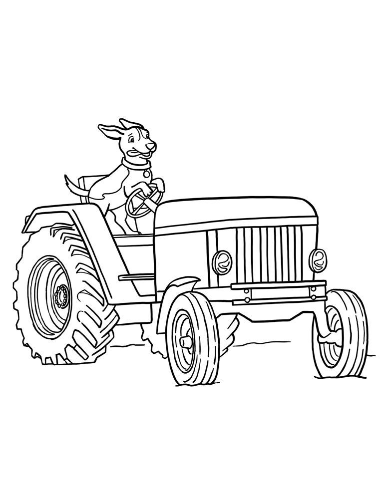 Best ideas about Printable Tractor Coloring Pages For Boys . Save or Pin Free Printable Tractor Coloring Pages For Kids Now.