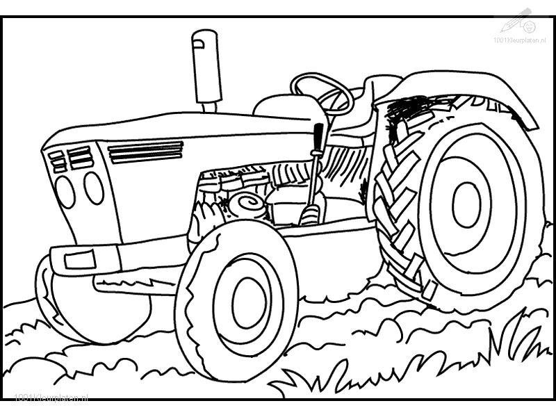 Best ideas about Printable Tractor Coloring Pages For Boys . Save or Pin Farm Tractor Coloring Pages Coloring Home Now.