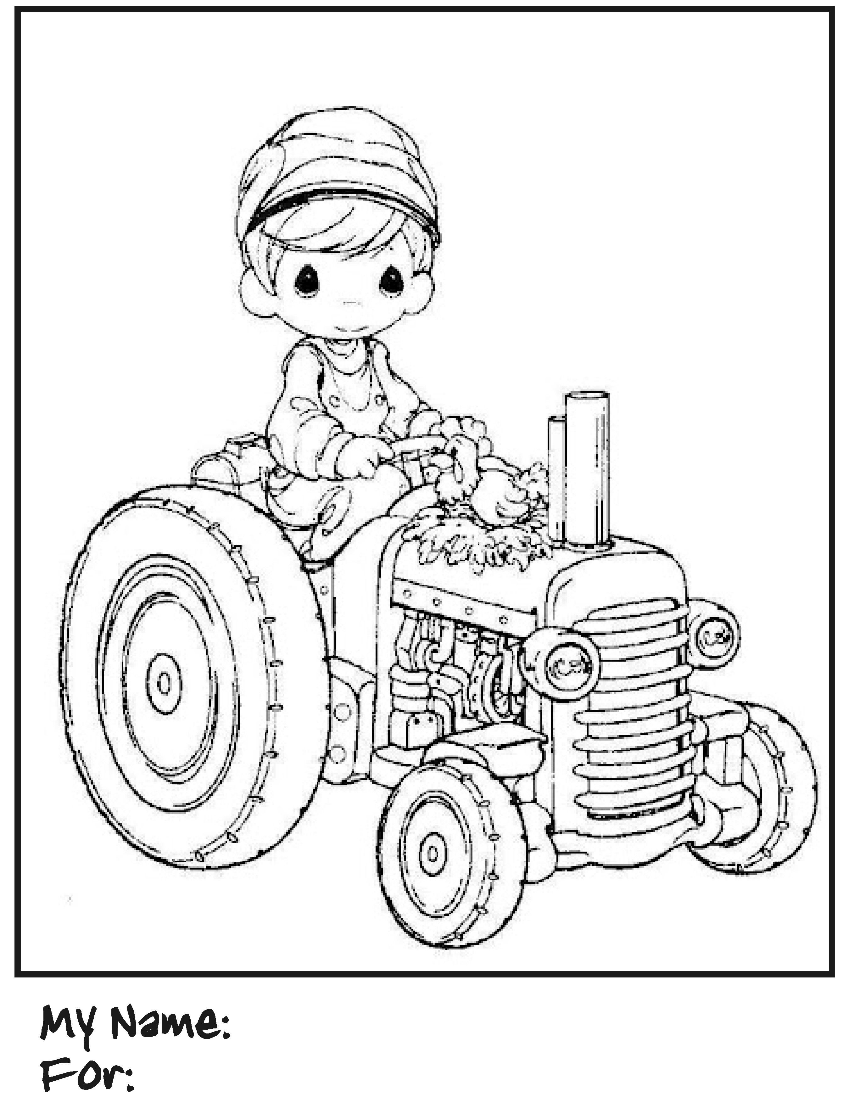 Best ideas about Printable Tractor Coloring Pages For Boys . Save or Pin Tractor Coloring Pages for kids These tractor coloring Now.