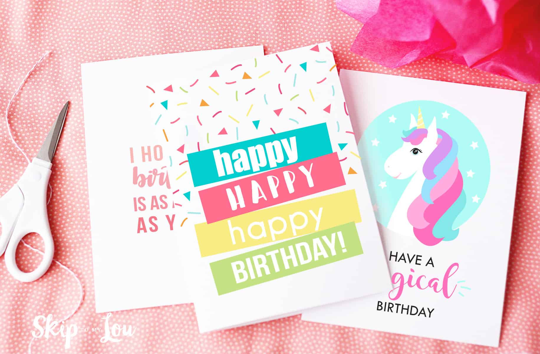 Best ideas about Printout Birthday Card . Save or Pin Free Printable Birthday Cards Now.